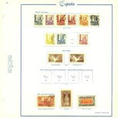 Selos: HOJA CON SELLOS ESPAÑA. Lote 286354628