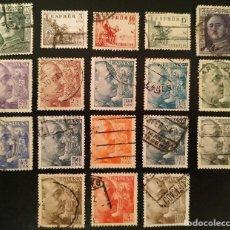 Selos: SELLOS 1949 USADOS. SERIE CID Y CAUDILLO. Lote 286567703