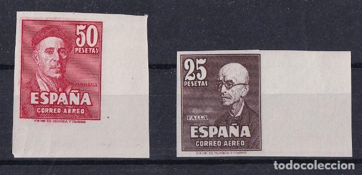 SELLOS ESPAÑA AÑO 1947 OFERTA EDIFIL 1015/1016 FANTASIAS DE COLOR EN NUEVO (Sellos - España - Estado Español - De 1.936 a 1.949 - Nuevos)
