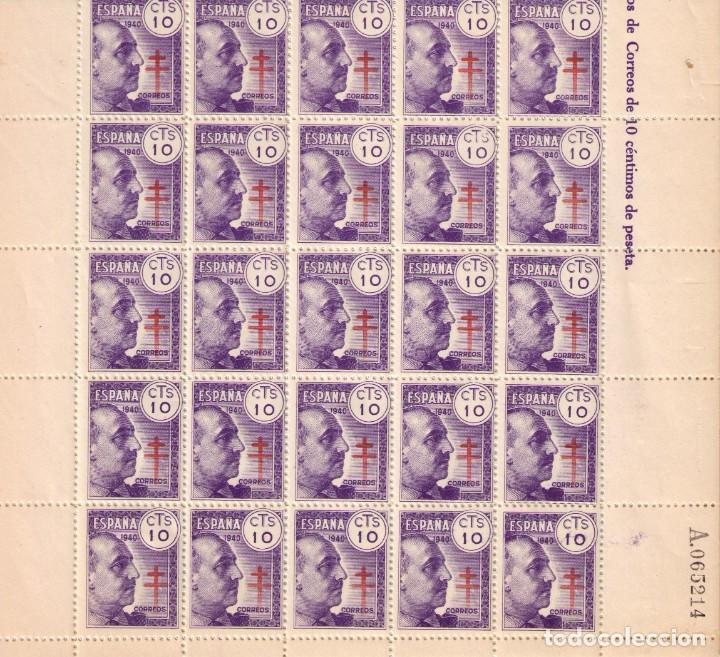SELLOS DE ESPAÑA AÑO 1940 GENERAL FRANCO PRO TUBERCULOSOS 35 SELLOS NUEVOS** (Sellos - España - Estado Español - De 1.936 a 1.949 - Usados)