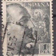Sellos: ESPAÑA 1949-53 - EDIFIL 1056- GENERAL FRANCO. Lote 288488763