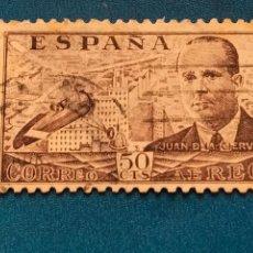 Sellos: USADO. AÑO 1939. EDIFIL 883. JUAN DE LA CIERVA.. Lote 288503413