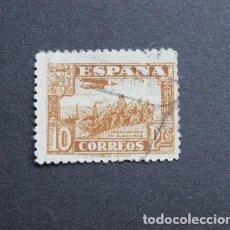 Sellos: ESPAÑA 1937 JUNTA DEFENSA NACIONAL SELLO 10 PESETAS DESEMBARCO EN ALGECIRAS. Lote 288536328