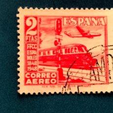 Sellos: USADO. AÑO 1948. EDIFIL 1039. CENTENARIO DEL FERROCARRIL.. Lote 288662753