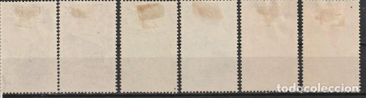 Sellos: España.Beneficencia.Estado español.Edifil nº21-25.Historia del correo.Nuevos.1938 - Foto 2 - 239491425