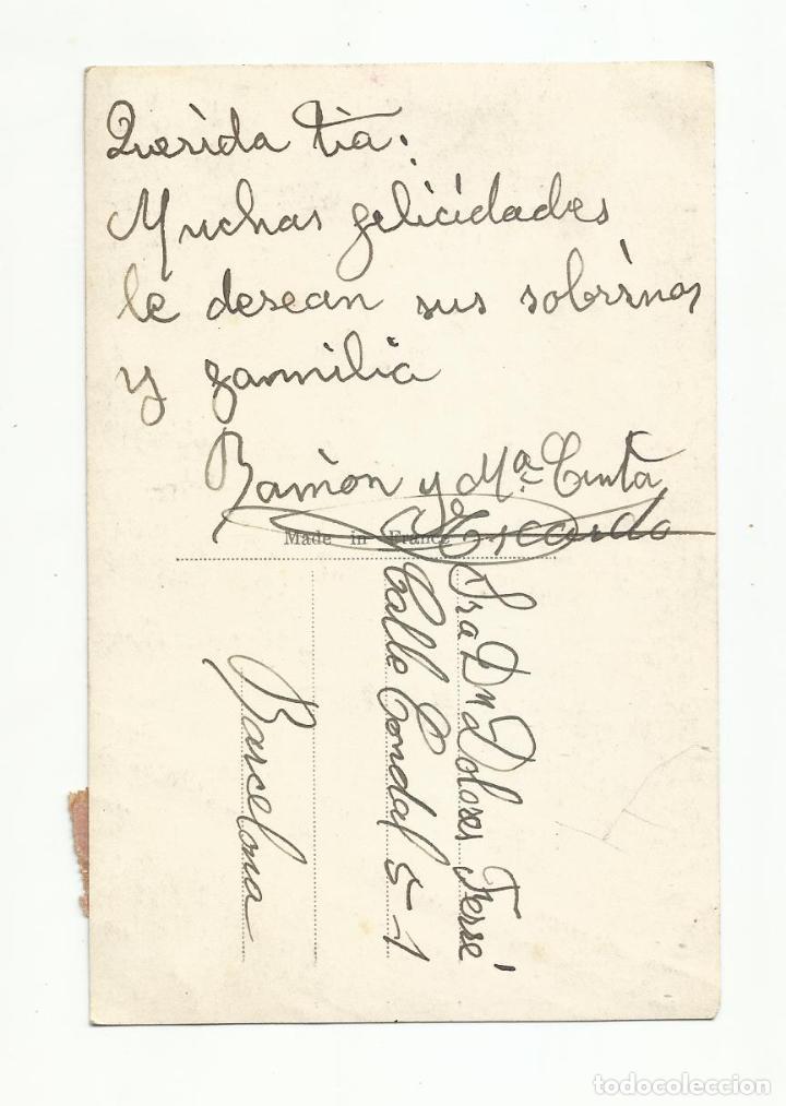 Sellos: postal CIRCULADA de barcelona a bcn con sello local - Foto 2 - 289776088