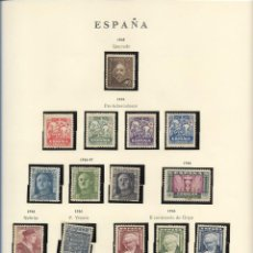 Sellos: SELLOS ESPAÑA 1945,46,47, QUEVEDO, PRO-TUBERCULOSOS, II CENTENARIO DE GOYA, NEBRIJA, P. VITORIA. Lote 289795583