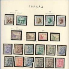 Sellos: SELLOS ESPAÑA 1948,49,53, CENTENARIO FERROCARRIL, PRO-TUBERCULOSOS, VICTIRMAS DE LA GUERRA. Lote 289796248