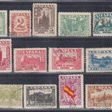 Sellos: ESPAÑA. 1936-1937 EDIFIL Nº 802 / 813, 808A, JUNTA DE DEFENSA NACIONAL. Lote 289894333