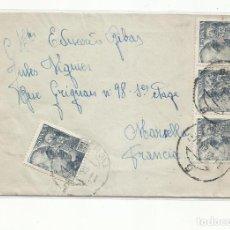 Sellos: CIRCULADA 1952 DE BARCELONA A MARSEILLE FRANCIA. Lote 293619043