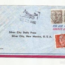 Sellos: CIRCULADA 1955 DE BARCELONA A NEW MEXICO USA. Lote 293620693