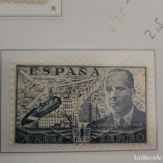 Sellos: SELLO DE ESPAÑA 1941 - 50 JUAN DE LA CIERVA 1 PTS EDIFIL 944. Lote 293903173