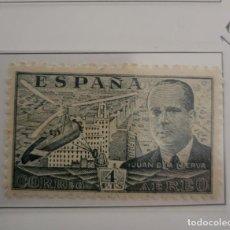 Sellos: SELLO DE ESPAÑA 1941 - 50 JUAN DE LA CIERVA 4 PTS EDIFIL 946. Lote 293903348