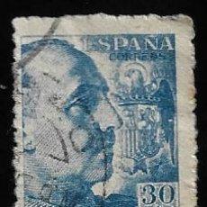 Sellos: ESTADO ESPAÑOL - GENERAL FRANCO - EDIFIL 924 - 1940 - BLOQUE DE DOS. Lote 294050068