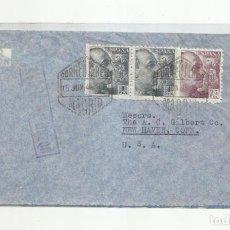 Sellos: CIRCULADA 1946 DE MADRID A USA. Lote 294156488