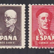 Francobolli: ESPAÑA, 1947 EDIFIL Nº 1015 / 1016 /*/, FALLA Y ZULOAGA.. Lote 294452888