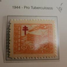 Sellos: SELLO DE ESPAÑA 1944 PROTUBERCULOSOS 25 CTS EDIFIL 986. Lote 294567883