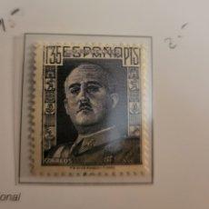 Sellos: SELLO DE ESPAÑA 1946-47 GENERAL FRANCO 1,35 CTS EDIFIL 1001. Lote 294573108