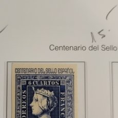 Sellos: SELLO DE ESPAÑA 1949 CENTENARIO DEL SELLO ESPAÑOL 75 CTS EDIFIL 1076. Lote 295358133