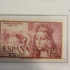 Sellos: SELLO DE ESPAÑA 1949 V CENTENARIO ISABEL LA CATÓLICA 1,3 CTS EDIFIL 1099. Lote 295360108