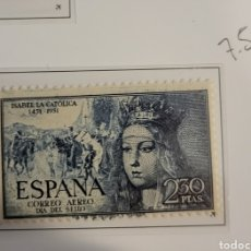 Sellos: SELLO DE ESPAÑA 1949 V CENTENARIO ISABEL LA CATÓLICA 2,3 CTS EDIFIL 1101. Lote 295360318