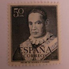 Sellos: SELLO DE ESPAÑA 1949 ANTONIO MARIA CLARET 50 CTS EDIFIL 1102. Lote 295385023