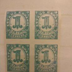 Selos: AÑO 1940 CIFRAS Y CID 4 SELLOS NUEVOS SIN DENTAR EDIFIL 914. Lote 295549983