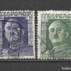 Sellos: ESPAÑA 1949 EDIFIL 1060/1061 USADO - 5/34. Lote 295608878
