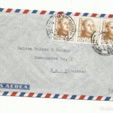 Sellos: CIRCULADA 1949 DE BARCELONA A BALE SUIZA. Lote 295626388