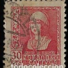 Sellos: ESTADO ESPAÑOL - ISABEL LA CATOLICA - EDIFIL Nº 857 - 1938-39. Lote 295650443