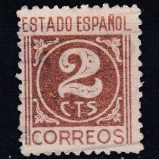 Sellos: 1940 EDIFIL 915 USADO. CIFRAS (1219). Lote 296022128