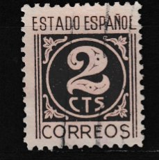 Sellos: 1940 EDIFIL 915 USADO. CIFRAS (1219). Lote 296022408