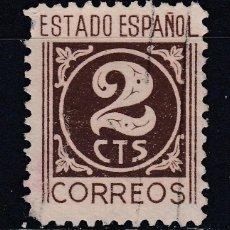 Sellos: 1940 EDIFIL 915 USADO. CIFRAS (1219). Lote 296022458
