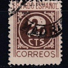 Sellos: 1940 EDIFIL 915 USADO. CIFRAS (1219). Lote 296022503