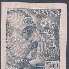Sellos: EDIFIL 927 GENERAL FRANCO 1940-1945 (VARIEDAD..PRUEBA DE IMPRESIÓN ANVERSO Y REVERSO). LUJO. MNH **. Lote 296737183
