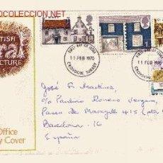 Sellos: GRAN BRETAÑA SPD 582/85 - AÑO 1970 - ARQUITECTURA RURAL. Lote 7788765