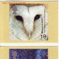 Sellos: GRAN BRETAÑA PHQ CARD 215 - AÑO 2000 - NUEVO MILENIO. Lote 3211383