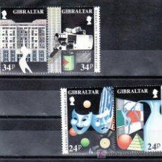 Sellos: GIBRALTAR 663/6 SIN CHARNELA, TEMA EUROPA 1993, ARTE CONTEMPORANEO,. Lote 12073773