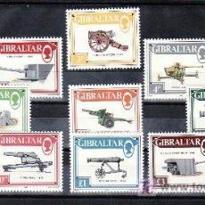 Sellos: GIBRALTAR 536/48 SIN CHARNELA, CAÑONES,. Lote 10764158
