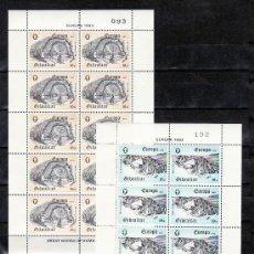 Sellos: GIBRALTAR 471/2 MINIPLIEGO SIN CHARNELA, TEMA EUROPA 1983, GRANDES OBRAS DE LA HUMANIDAD,. Lote 10843471
