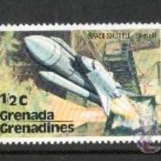 Sellos: GRENADA Y GRENADINES AÑO 1978 YV 222/24*** SATÉLITE ESPACIAL - ASTRONÁUTICA - TRANSPORTES. Lote 10246756