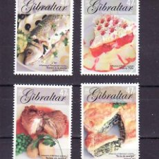 Sellos: GIBRALTAR 1124/7 SIN CHARNELA, TEMA EUROPA 2005, GASTRONOMIA,. Lote 11797910