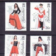 Sellos: GIBRALTAR 835/8 SIN CHARNELA, TEMA EUROPA 1998, FIESTAS POPULARES,. Lote 11441647