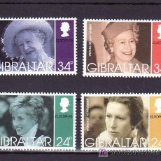 Sellos: GIBRALTAR 764/7 SIN CHARNELA, TEMA EUROPA 1996, MUJERES CELEBRES,. Lote 254185360