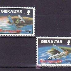 Sellos: GIBRALTAR 622/3 SIN CHARNELA, TEMA EUROPA 1991, EUROPA Y EL ESPACIO,. Lote 10525527