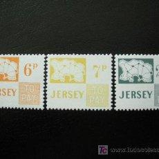 Sellos: JERSEY 1974 TASA IVERT 15/7 *** MAPAS. Lote 13168063