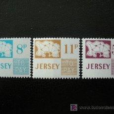 Sellos: JERSEY 1975 TASA IVERT 18/20 *** MAPAS. Lote 13168082