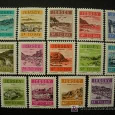 Sellos: JERSEY 1978 TASA IVERT 33/46 *** - VISTAS DE JERSEY. Lote 13168128