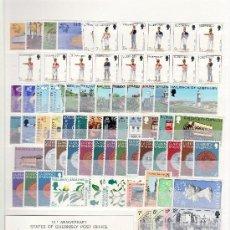 Sellos: ISLAS DEL CANAL SIN CHARNELA CLASIFICADOR CON 1.468,55 EUROS YVERT 2003 +. Lote 26232320