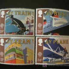 Sellos: GRAN BRETAÑA 1988 IVERT 1311/4 *** EUROPA. Lote 13940038